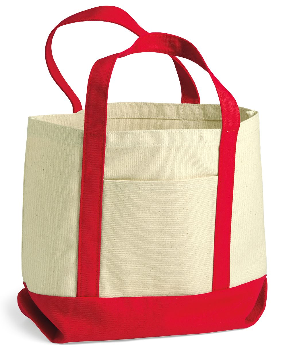 Liberty Bags 8867 - 11 Ounce Small Cotton Canvas Boater Tote