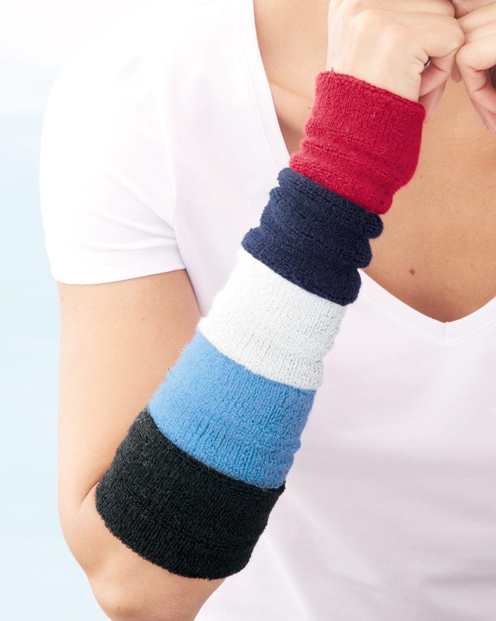 Mega Cap 1253 - Terry Cloth Wristband (Pair)