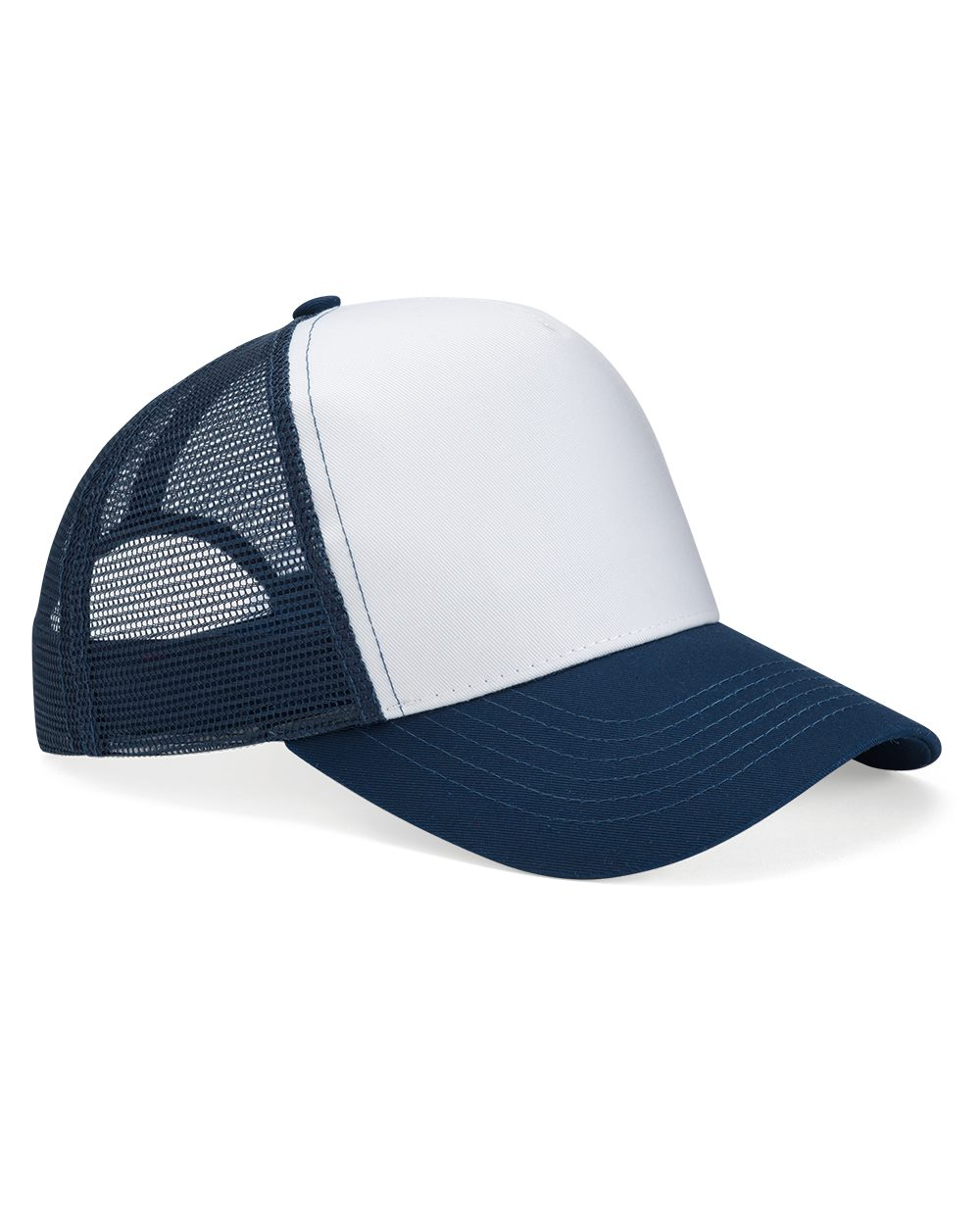 Mega Cap 6886 - Five Panel PET Mesh Back Trucker
