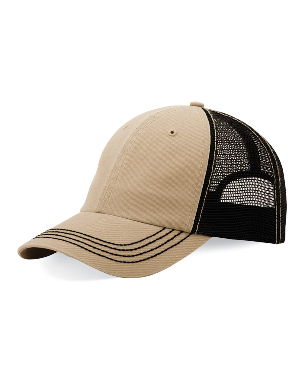 Mega Cap 6894 - Washed Twill Trucker Cap