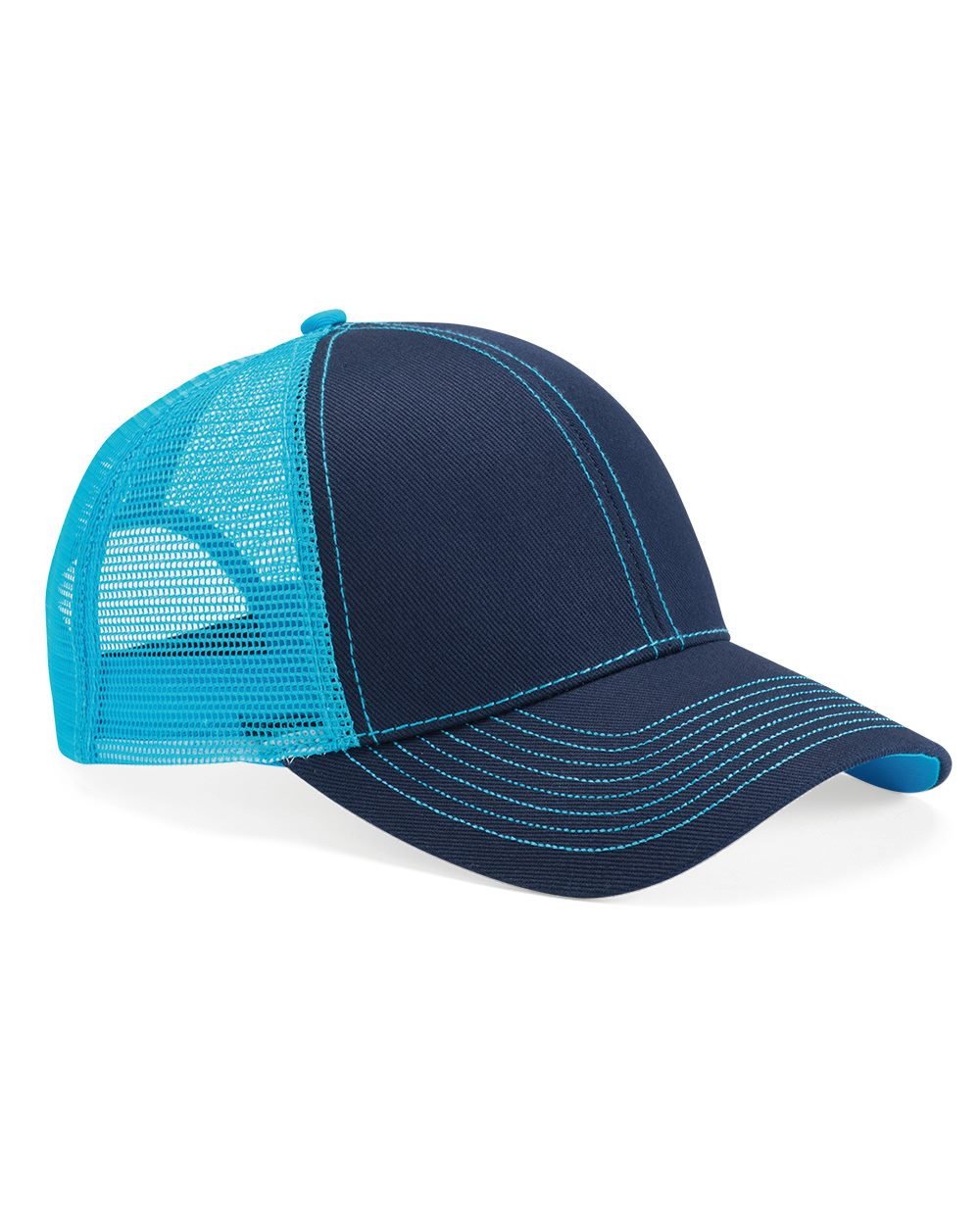 Mega Cap 7641 - Heavy Cotton Twill Front Trucker Cap