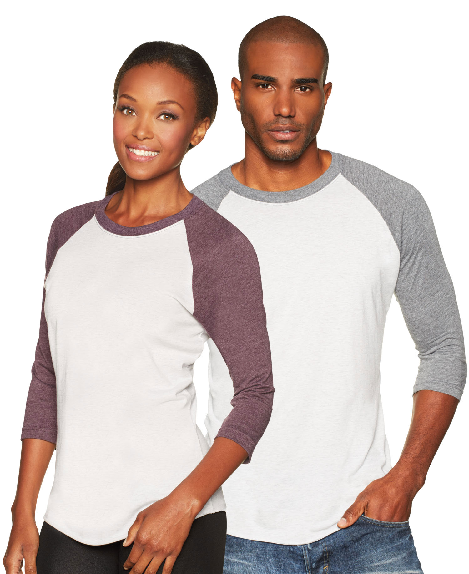 Next Level - NL6051 Unisex Triblend 3/4 Raglan
