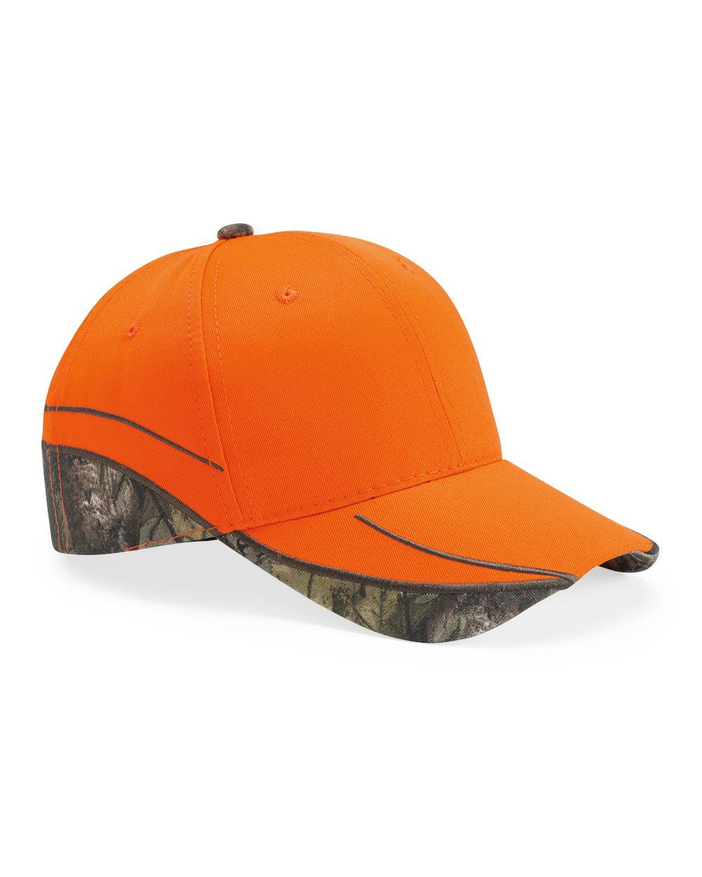 Outdoor Cap BLZ615 - Blaze Cap With Camo Trim