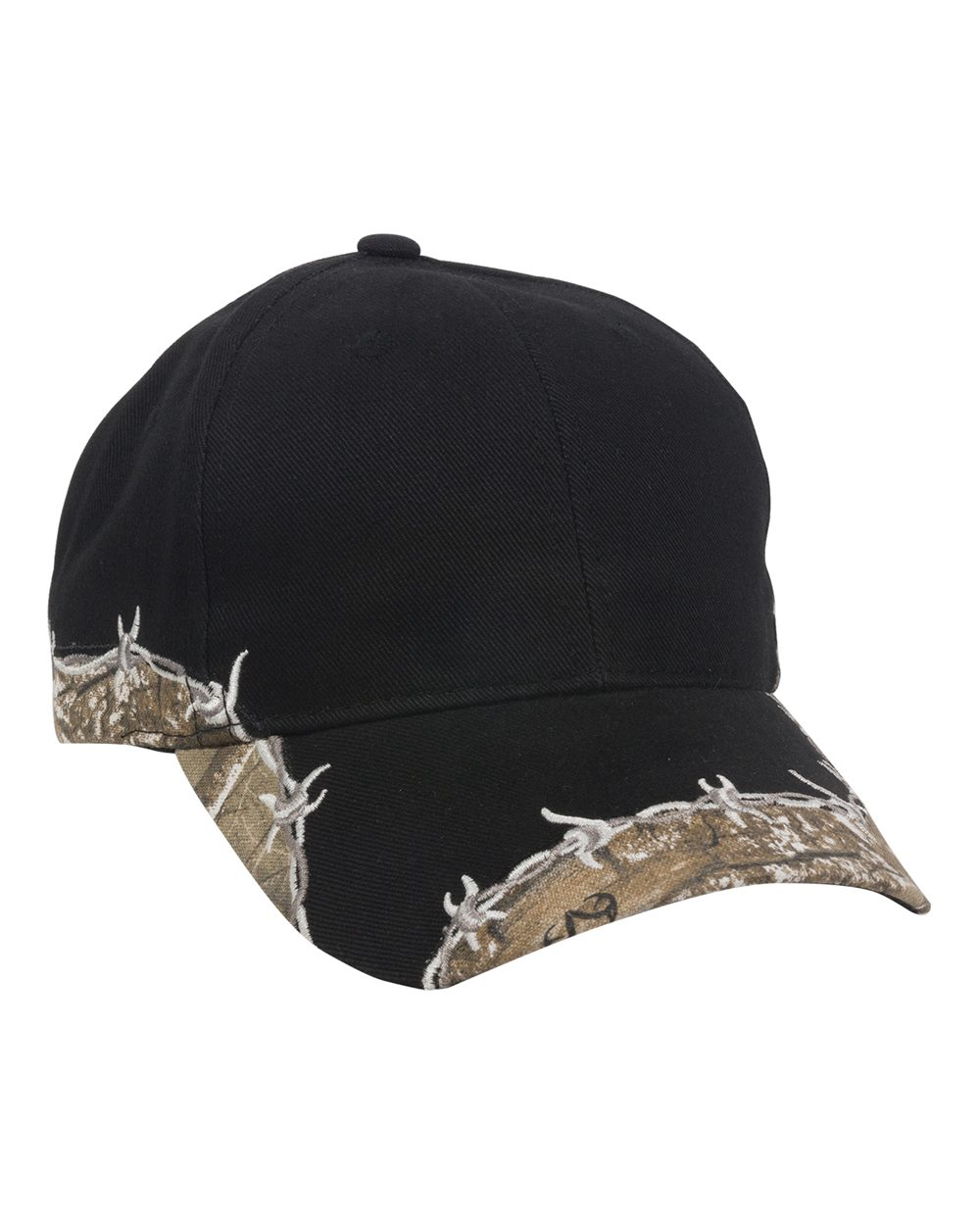 Outdoor Cap BRB605-Barbed Wire Camo Cap
