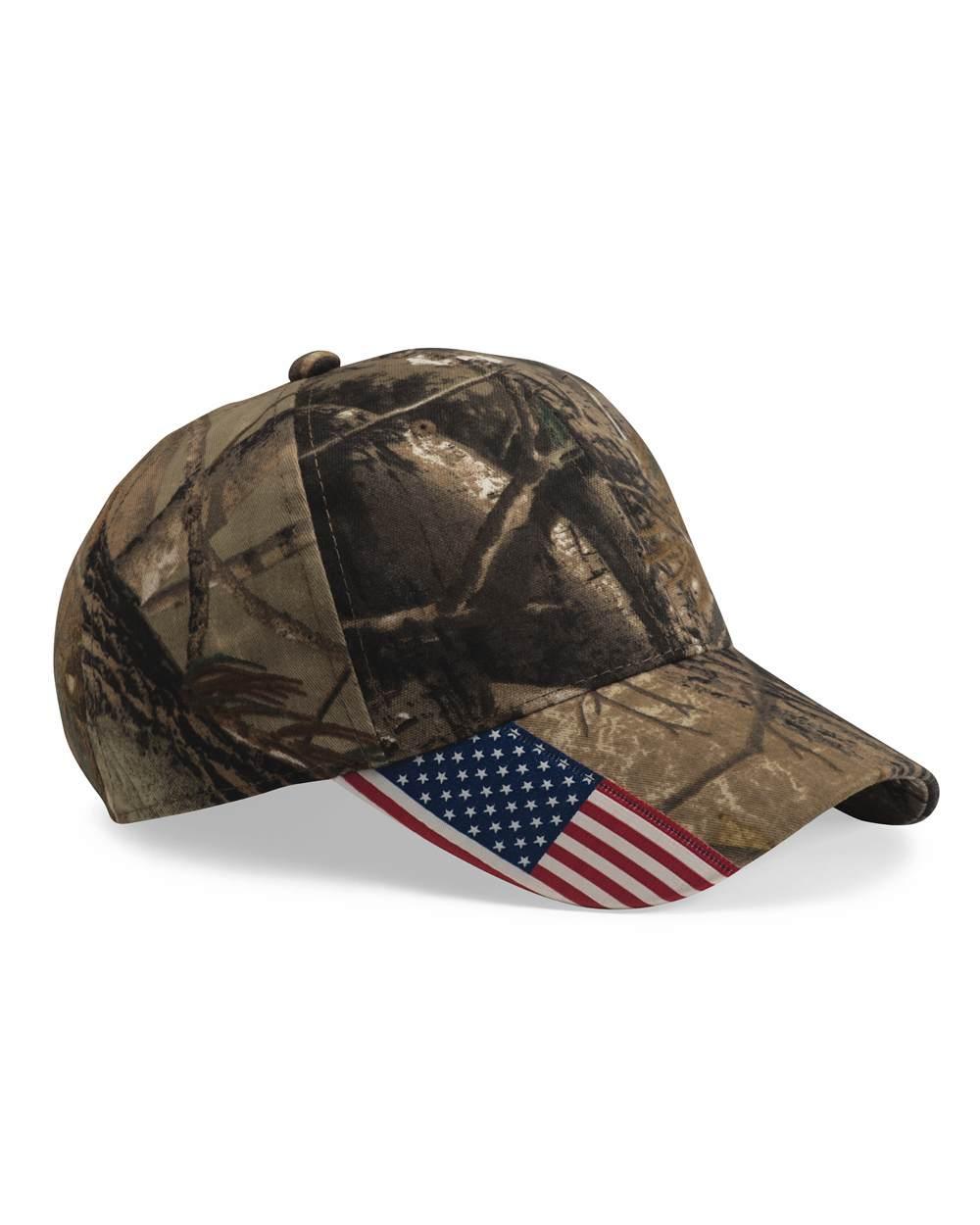Outdoor Cap CWF305 带美国国旗帽子
