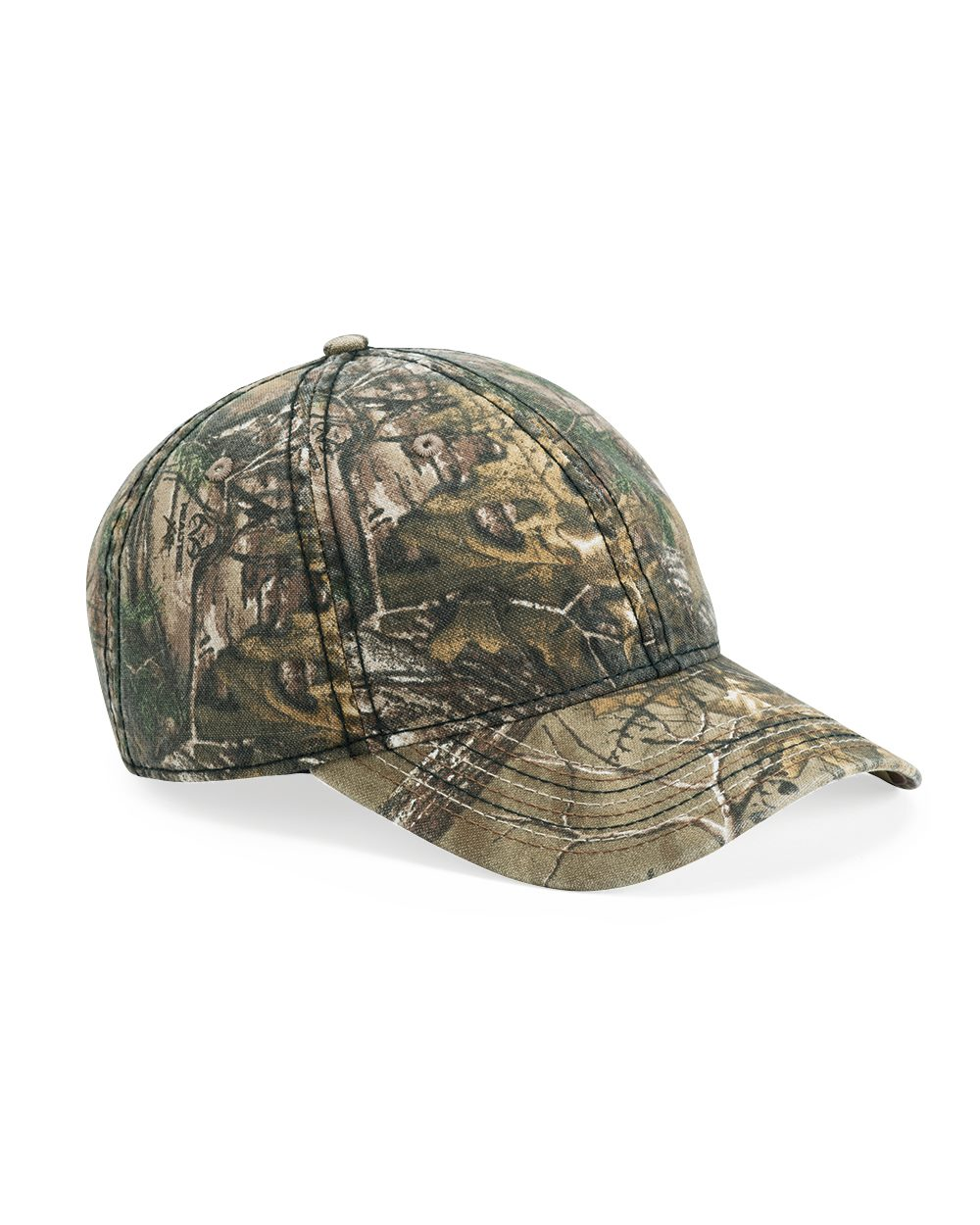 Outdoor Cap CWF315 - Camo Cap With Flag Undervisor