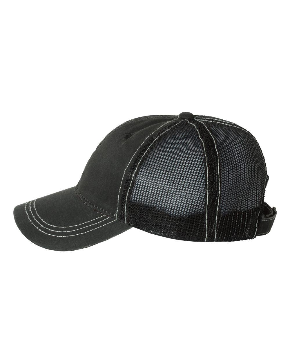 Outdoor Cap HPD610M - Weathered Cotton Mesh Back Cap