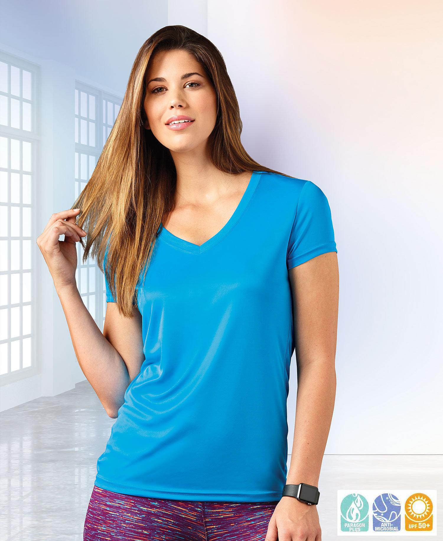 Paragon - SM0203 Screenmates Women's V-Neck T-Shirt
