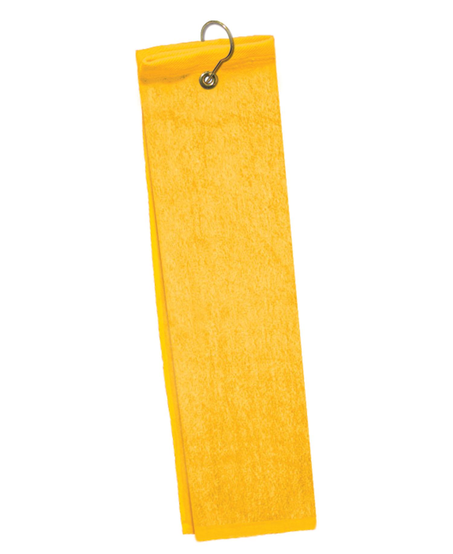Q-Tees of California - Q0T200TG Hand Towel Trifold Grommet