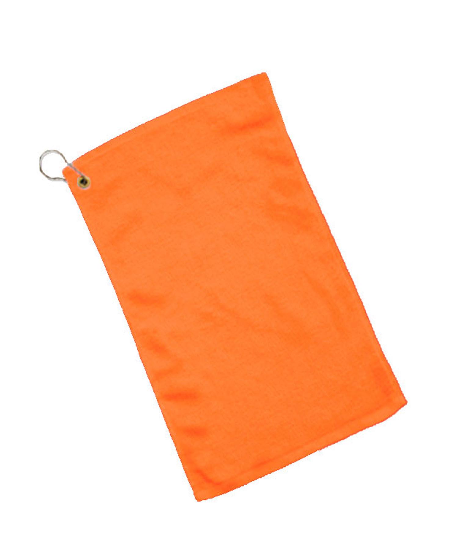 Q-Tees of California - Q0T600CG Fringed Towel Corner Grommet