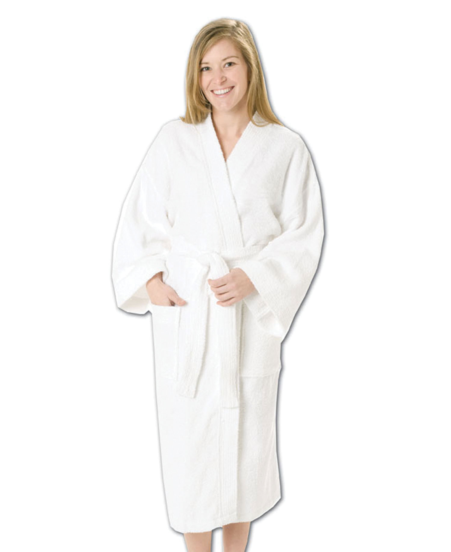 Q-Tees of California - QBR80 48 Terry Loop Bath Robe