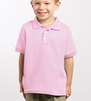 Rabbit Skins 4600 Toddler Jersey Platinum Golf Shirt
