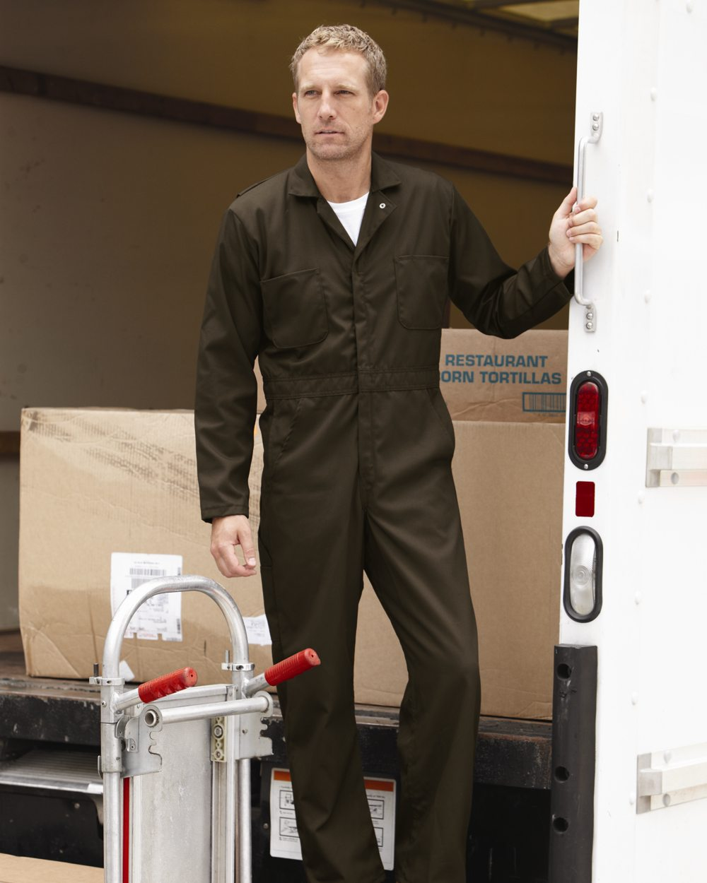 Red Kap Industrial CT10 Twill Action Back Coverall
