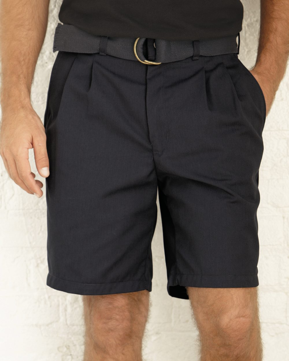 Red Kap Industrial PT34 Pleated Front Short