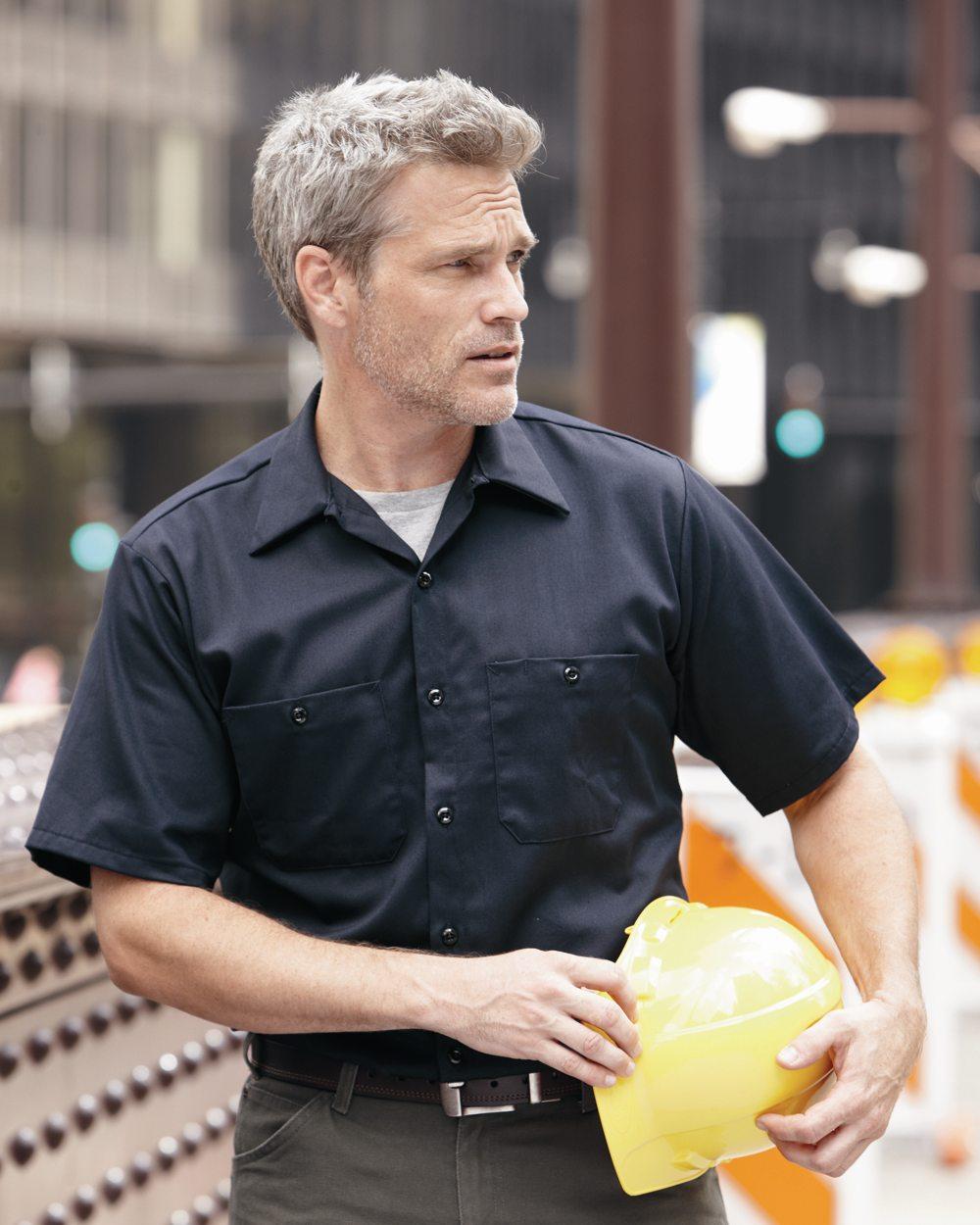 Red Kap Industrial SC40 Short Sleeve Uniform Shirt