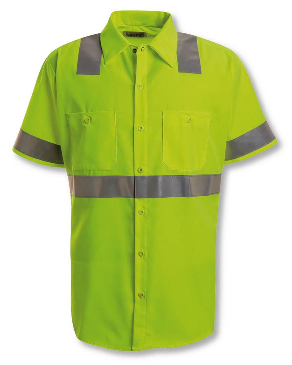 Red Kap Industrial SS24HV High Visibility Safety Short Sleeve Work Shirt