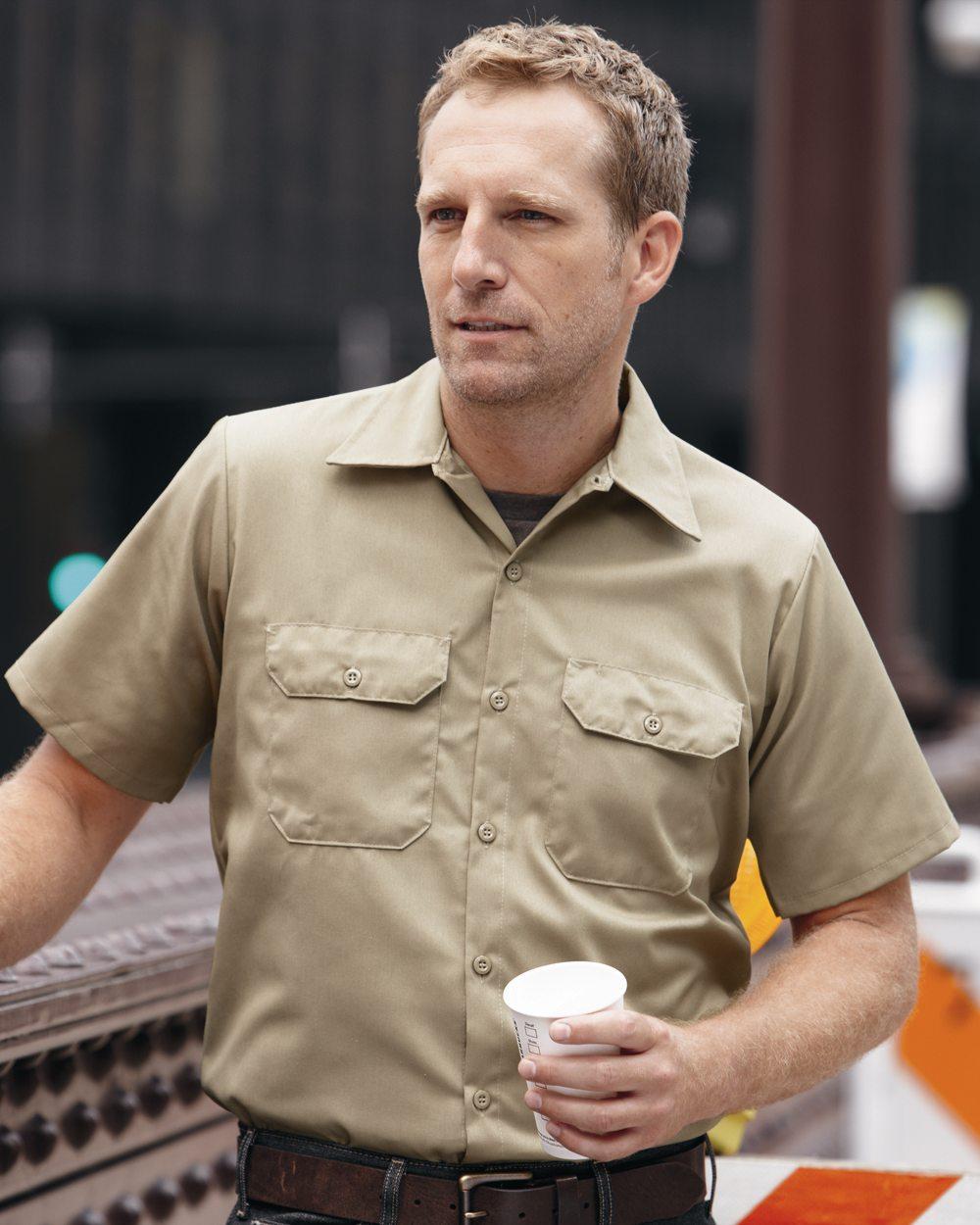 Red Kap Industrial ST62 Utility Short Sleeve Work Shirt