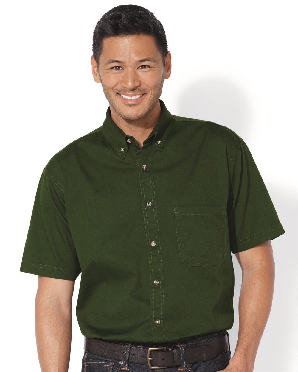 Sierra Pacific 0201 Short Sleeve Cotton Twill