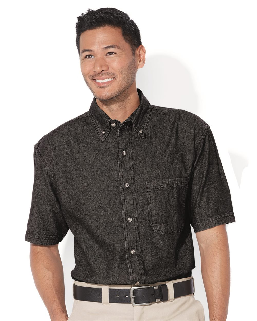 Sierra Pacific 0211 Short Sleeve Denim