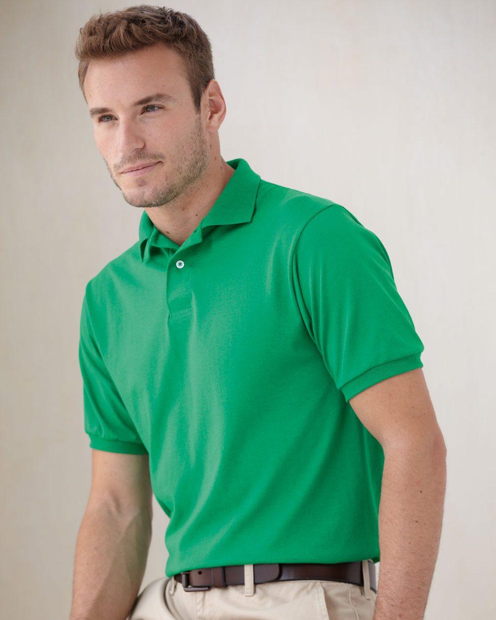 Hanes 054X - Ecosmart Jersey Sport Shirt