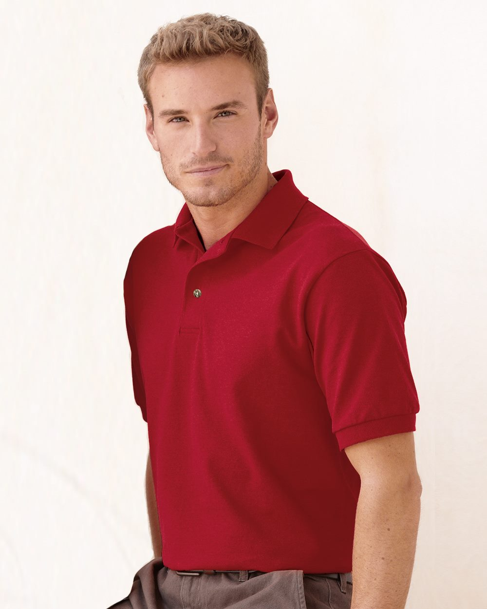 Stedman By Hanes 055X Cotton Pique Sport Shirt
