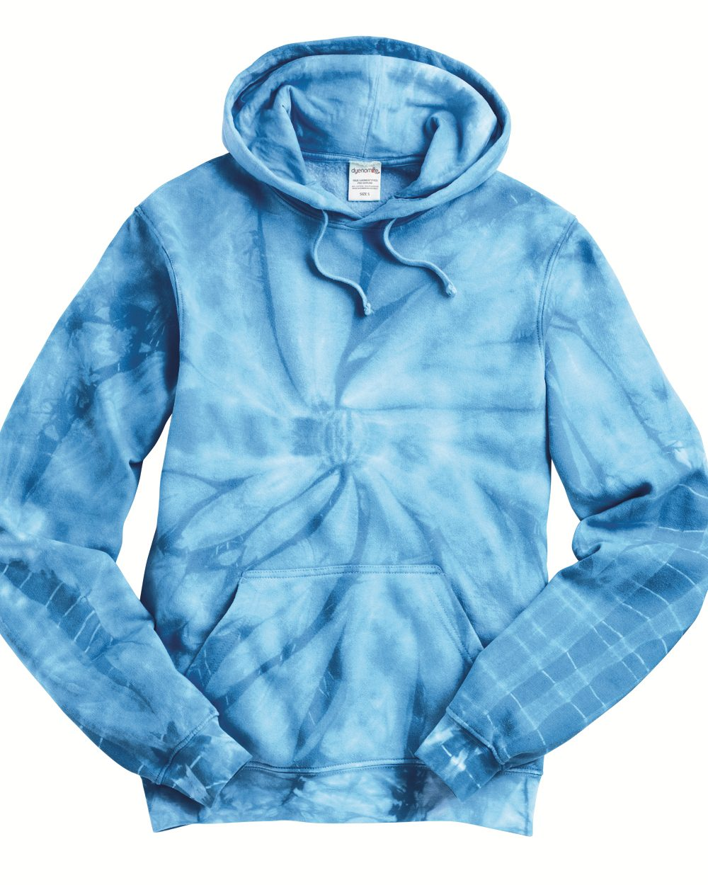 Tie-Dyed 854CY-Cyclone Hooded Sweatshirt