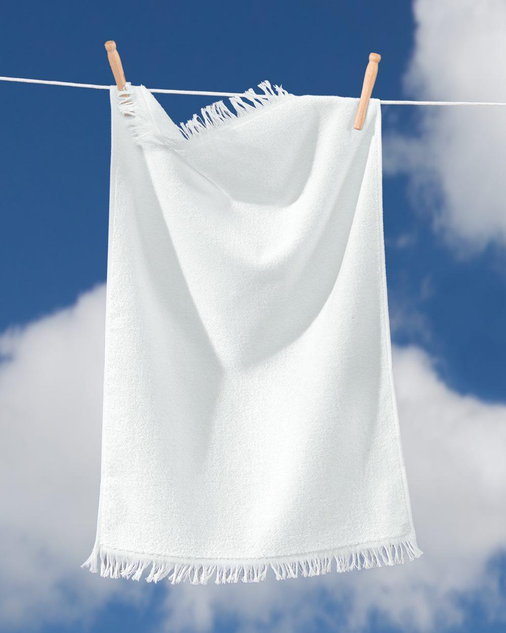 Towels Plus T640 带流苏毛巾
