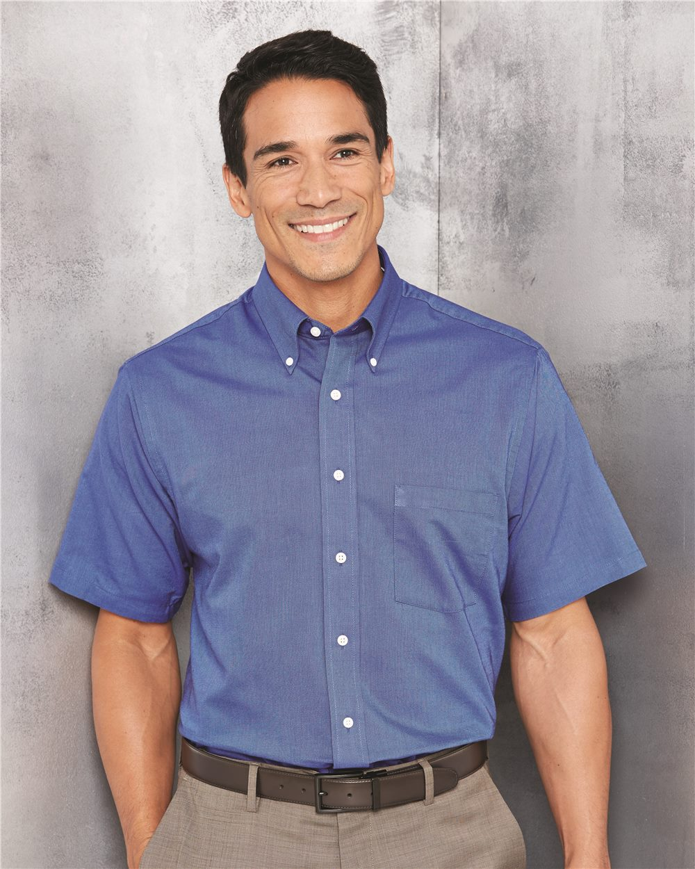 Van Heusen 13V0042 Short Sleeve Oxford