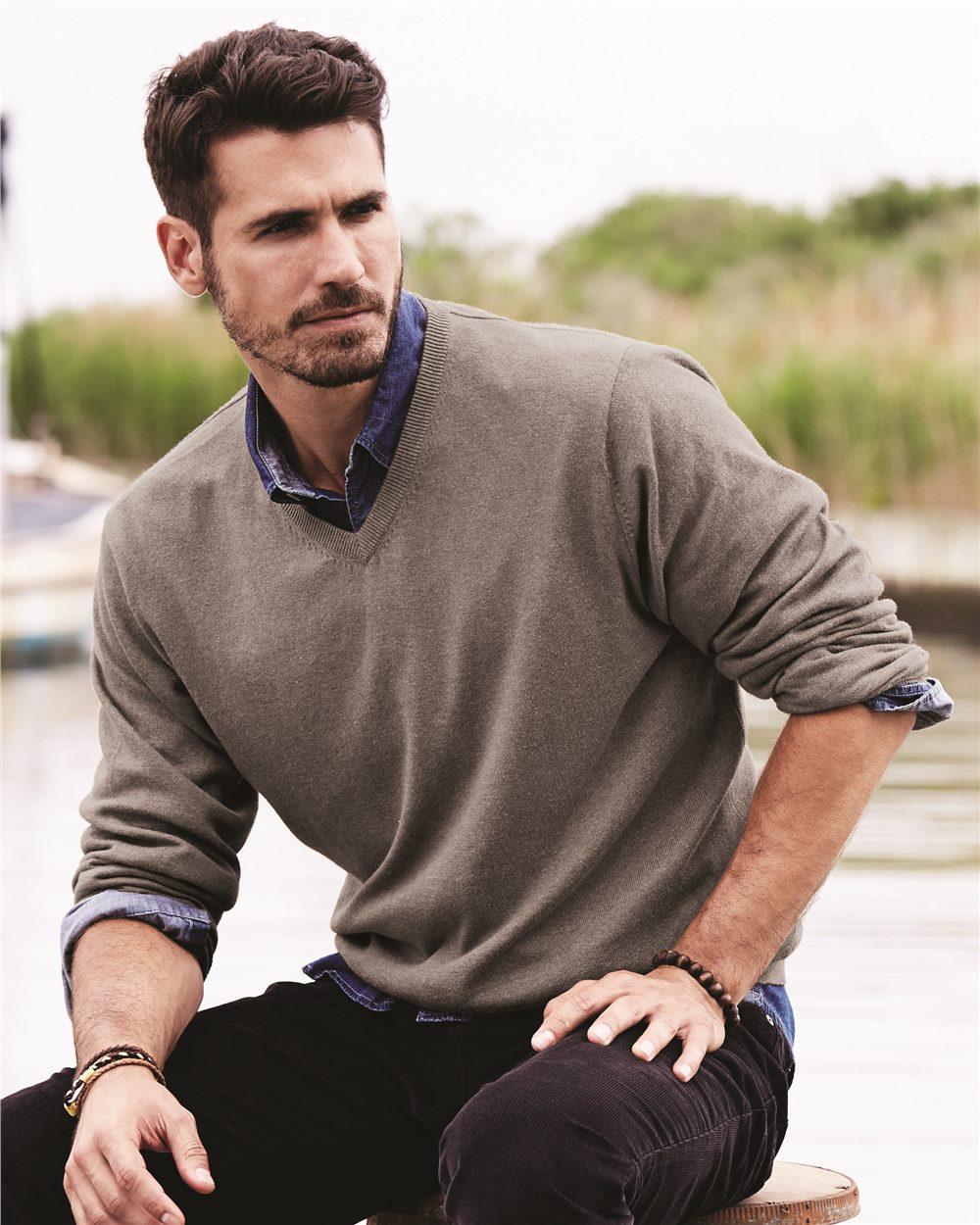 Weatherproof 151377 - Vintage Cotton Cashmere V Neck Sweater