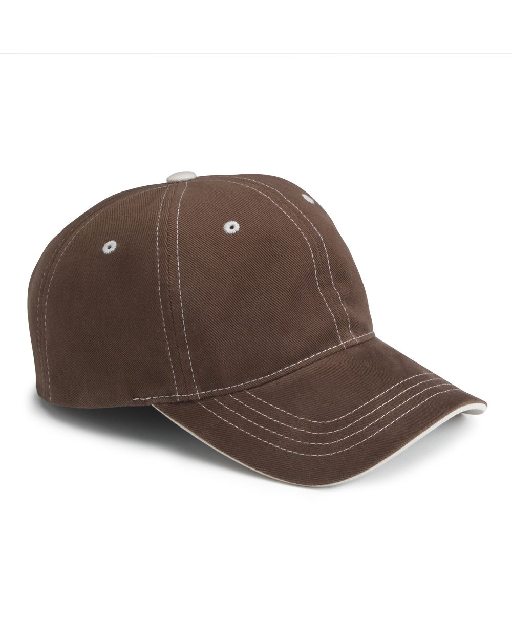 YuPoong 6161 Contrast Color Stitched Cap