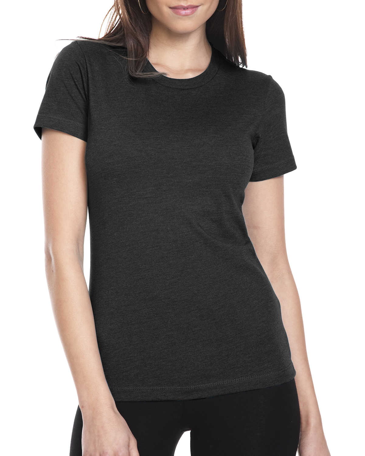 Next Level 6610 - Womens CVC Short Sleeve Crew