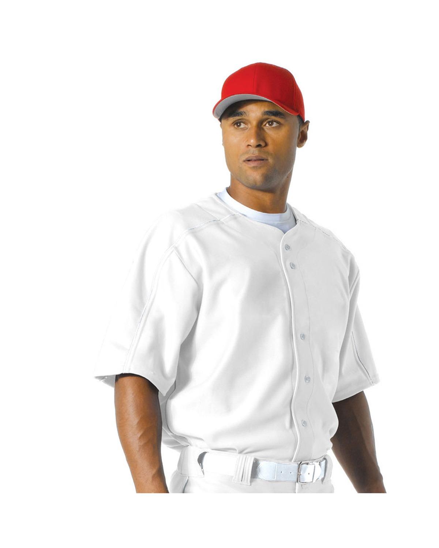 A4 Drop Ship - N4214 Men's  Warp Knit Baseball Jersey