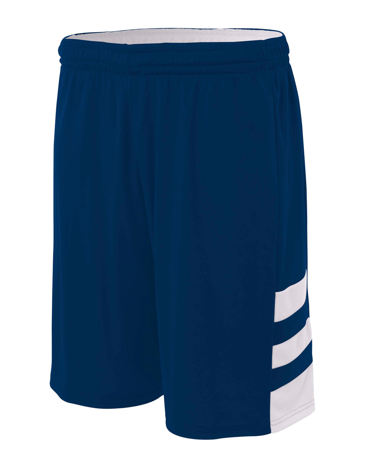 "A4 Drop Ship N5334 - Adult 10"" Inseam Reversible Speedway Shorts"