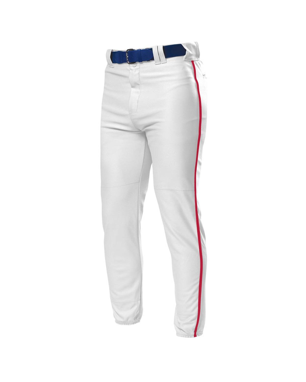 A4 Drop Ship - N6178 Adult Pro Style Elastic Bottom Baseball Pant