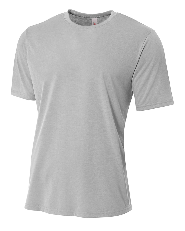 A4 Drop Ship NB3264 - Youth Shorts Sleeve Spun Poly T-Shirt