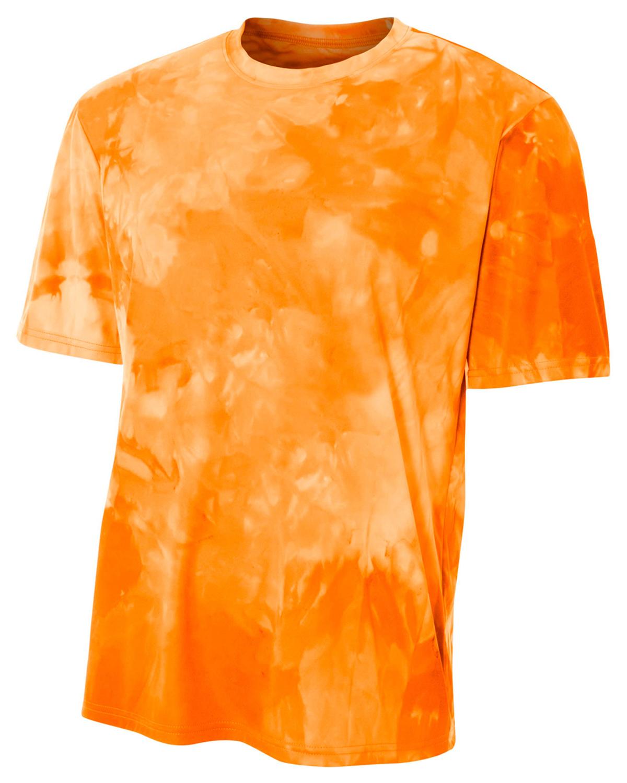 A4 Drop Ship NB3295 - Youth Cloud Dye T-Shirt