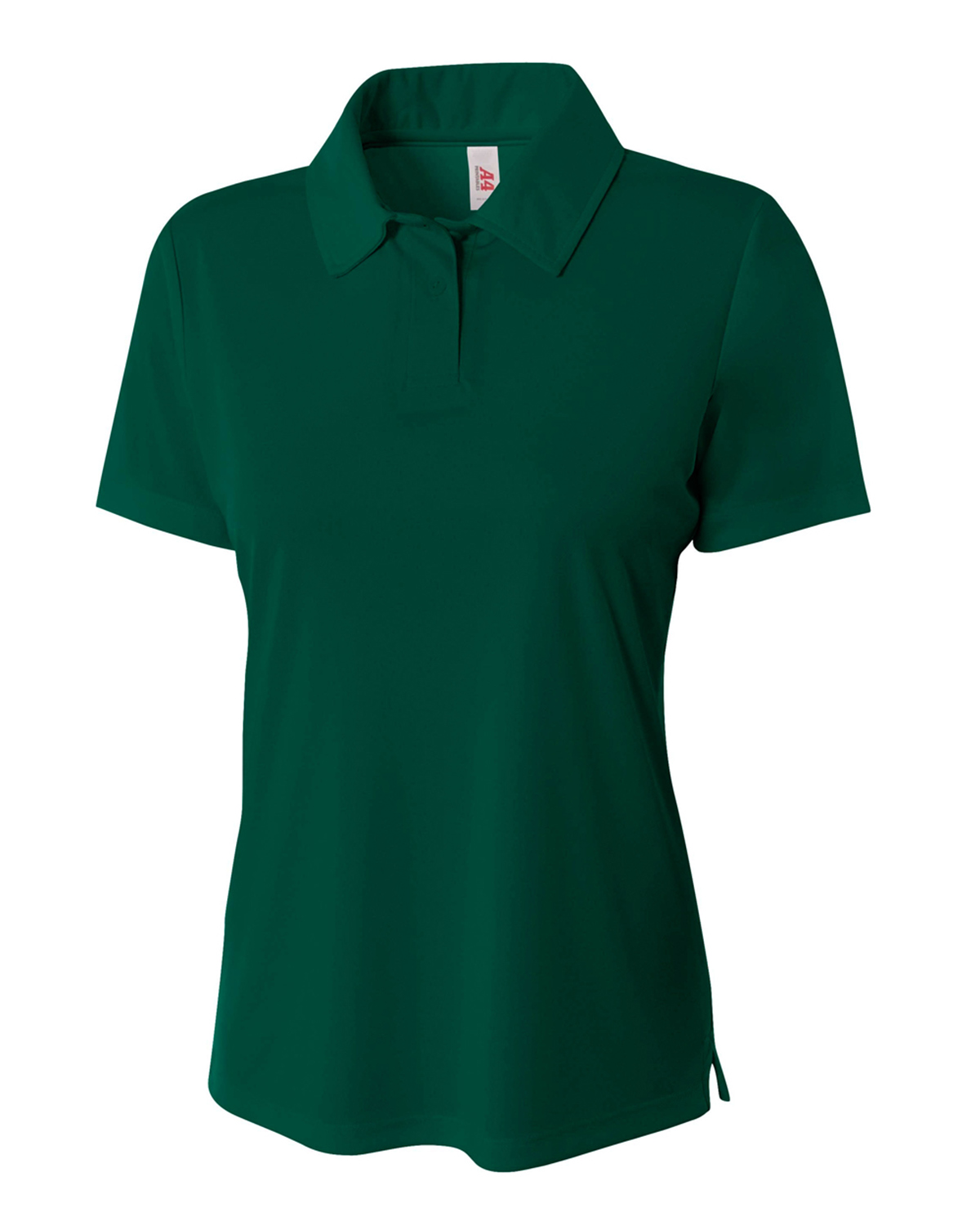 A4 Drop Ship NW3261 - Ladies' Solid Interlock Polo