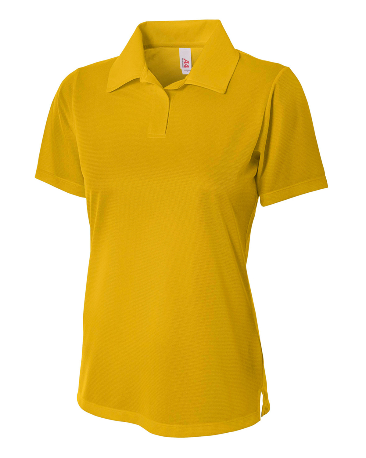 A4 Drop Ship NW3265 - Ladies' Textured Polo Shirt w/ Johnny Collar