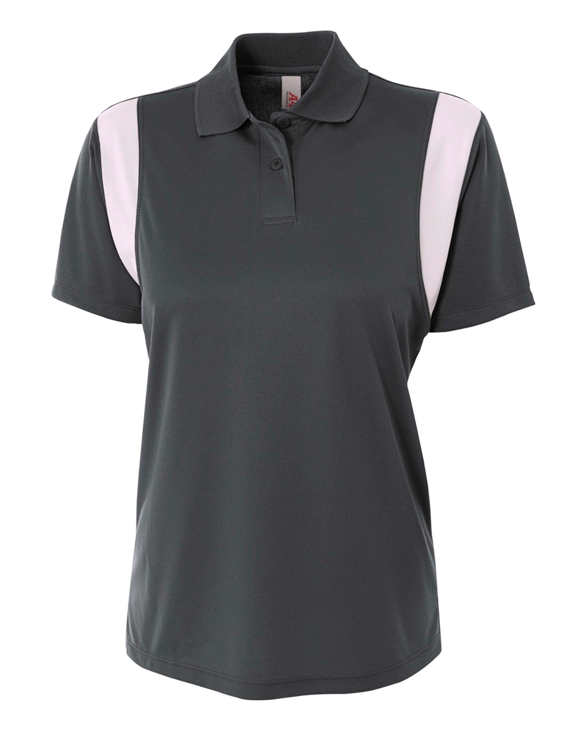 A4 Drop Ship NW3266 - Ladies' Color Blocked Polo w/ ...