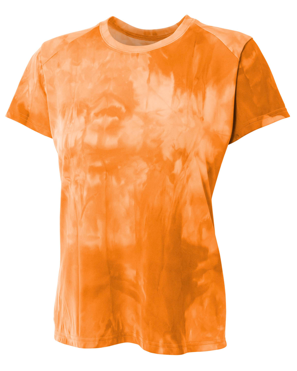A4 Drop Ship NW3295 - Ladies' Cloud Dye Tech T-Shirt
