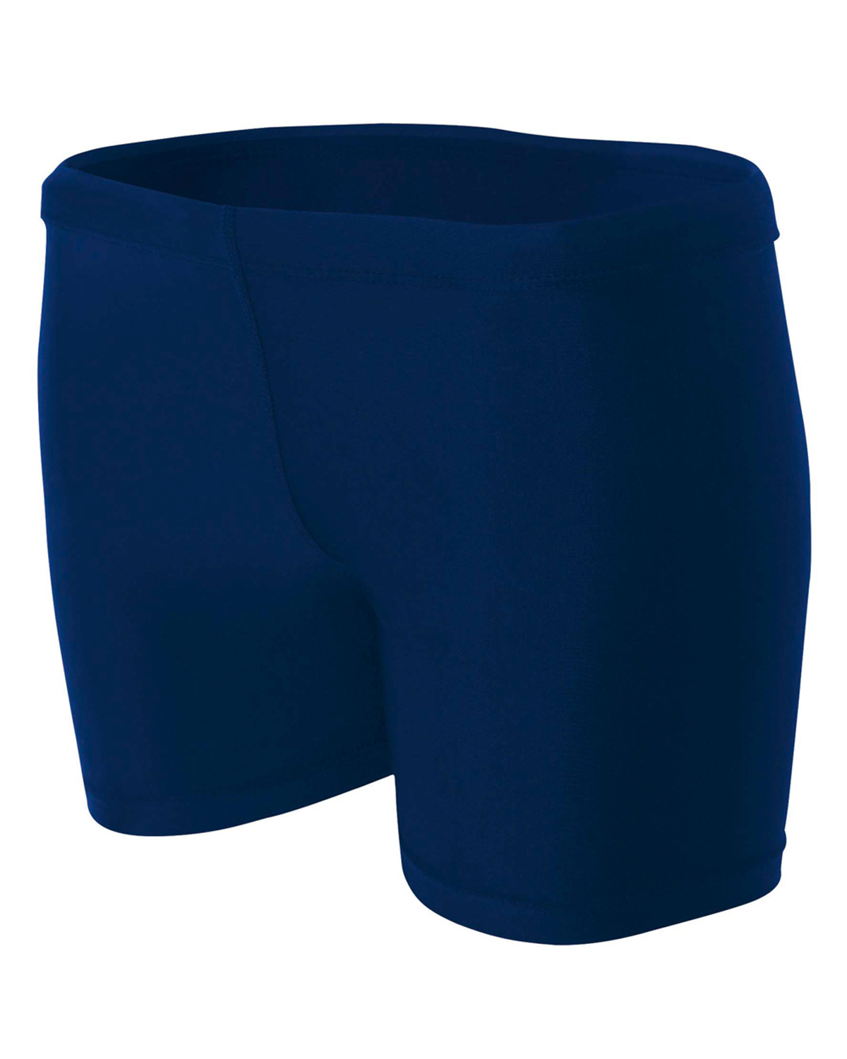 "A4 Drop Ship NW5313 - Ladies' 4"" Inseam Compression Shorts"