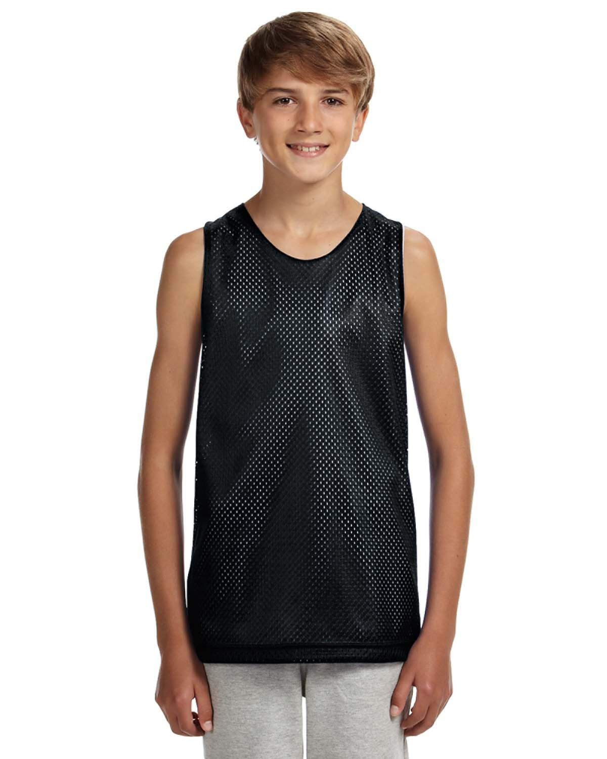 A4 N2206 - Youth Reversible Mesh Tank