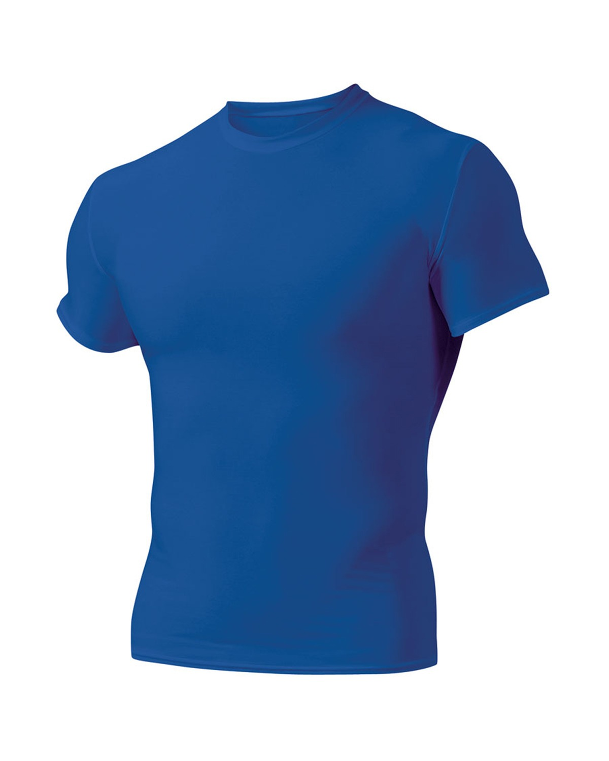 A4 N3130 - Short Sleeve Compression Crew