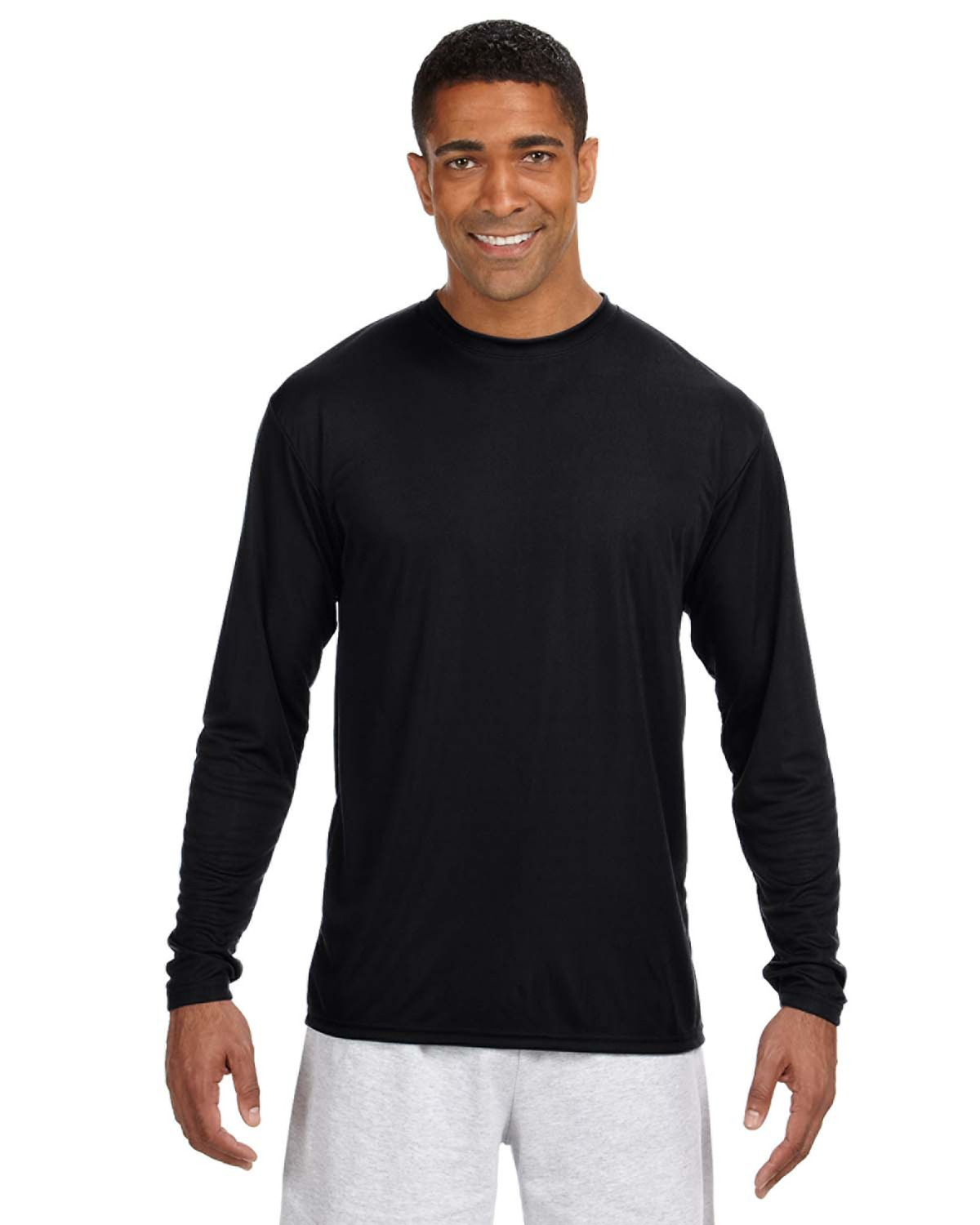 A4 N3165 - Adult Cooling Performance Long-Sleeve Tee