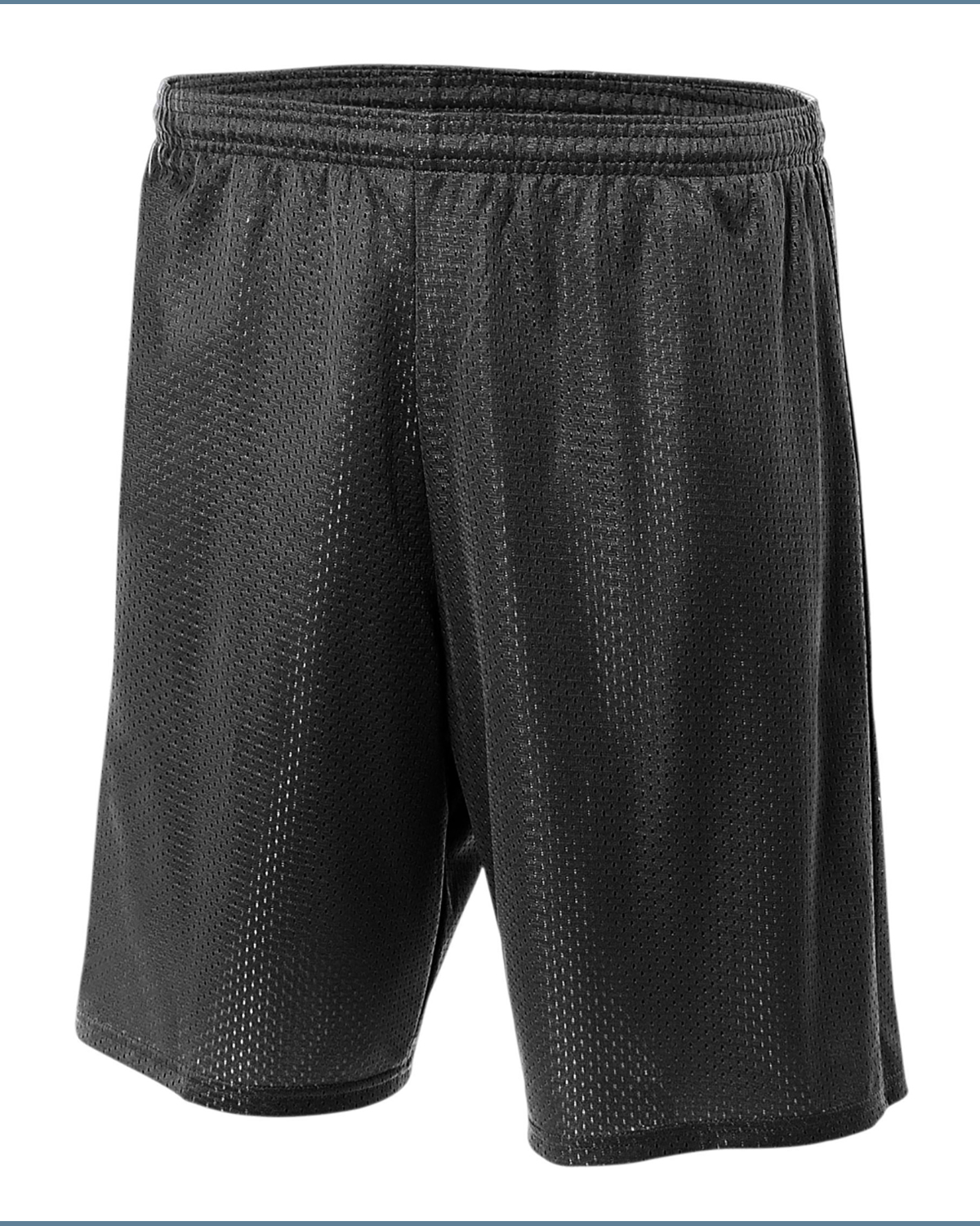 """A4 N5296 - Adult Tricot Lined 9"""" Mesh Shorts"""