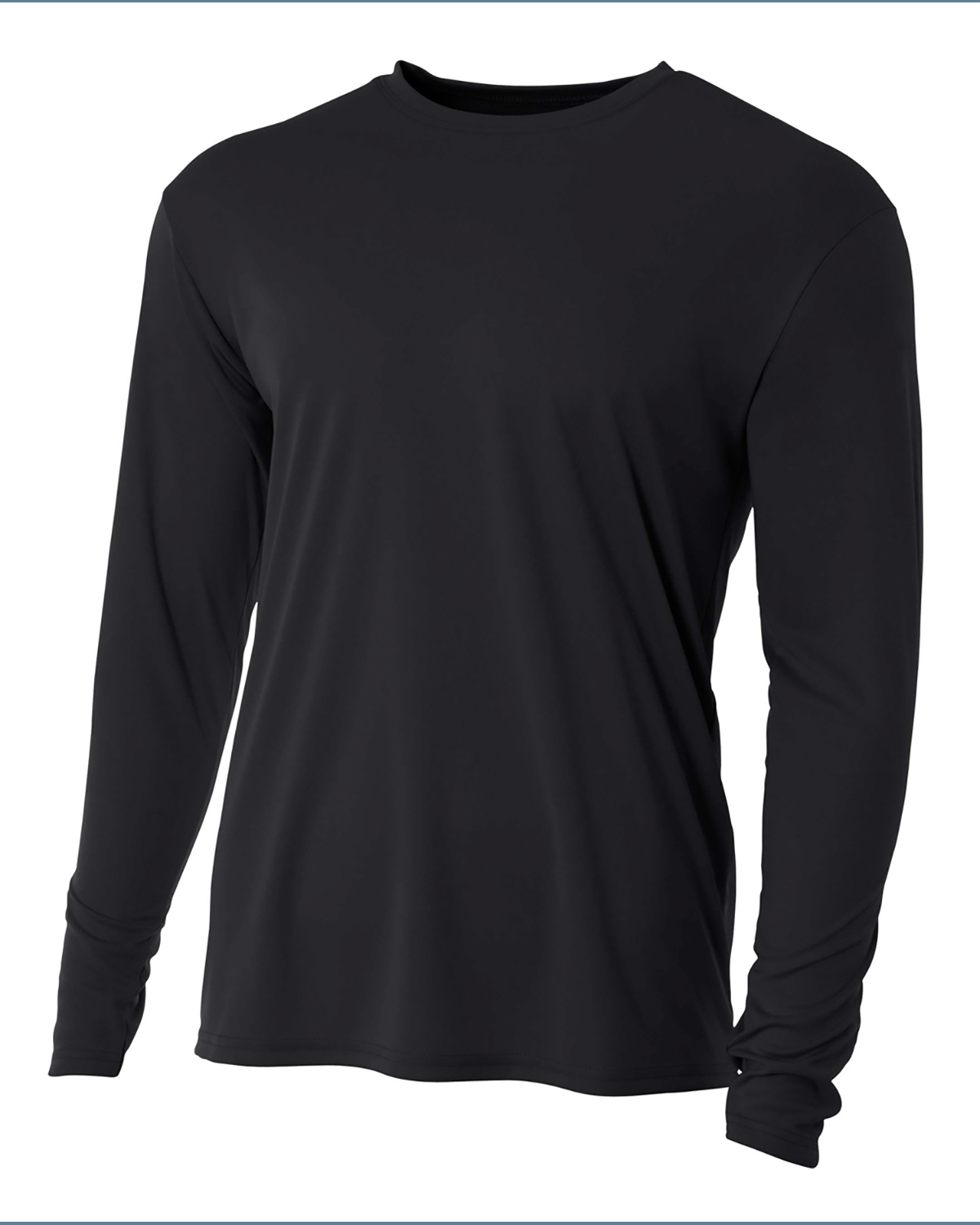 A4 NB3165 - Youth Cooling Performance Long Sleeve Crew