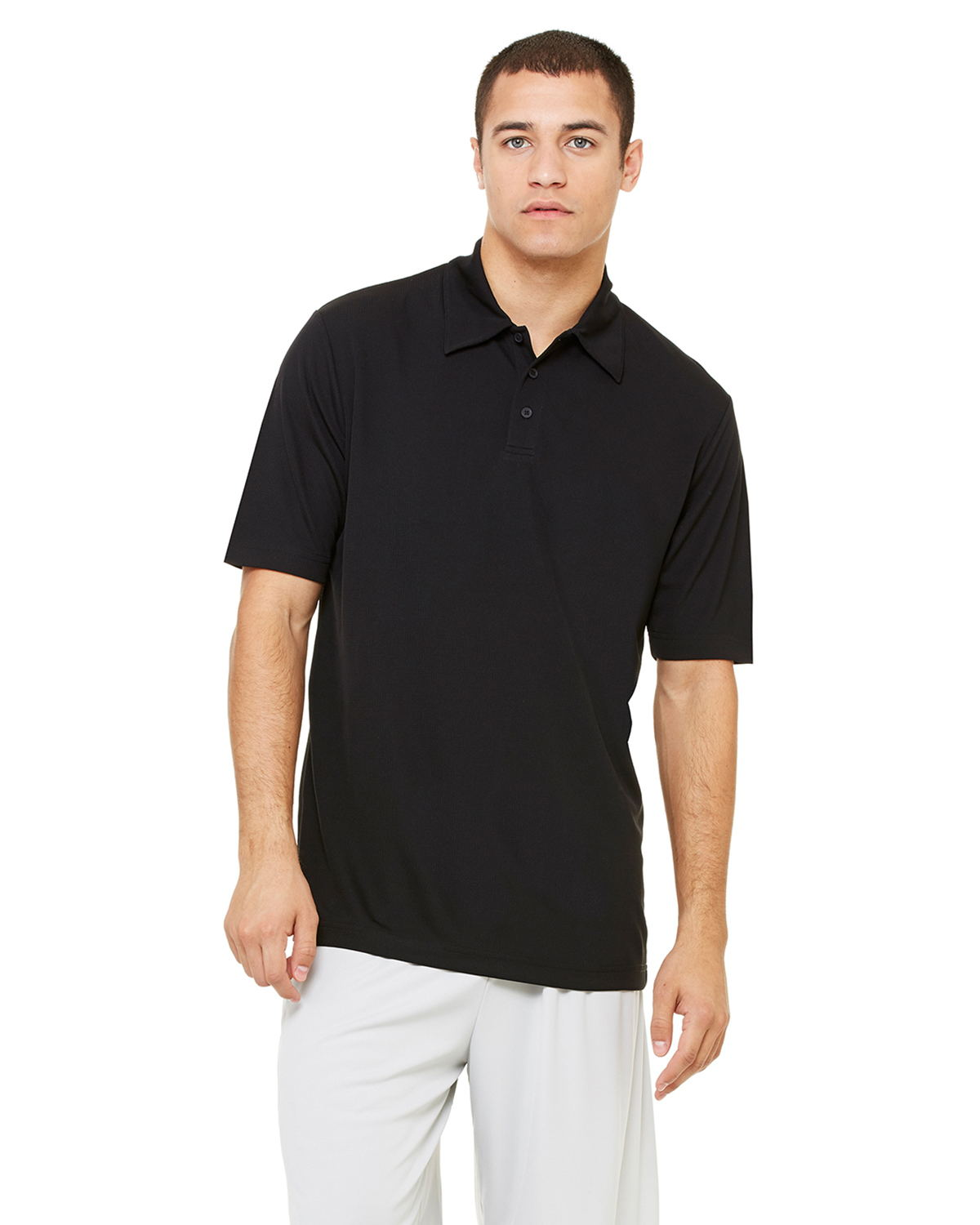 Alo M1709 - Performance Three-Button Mesh Polo
