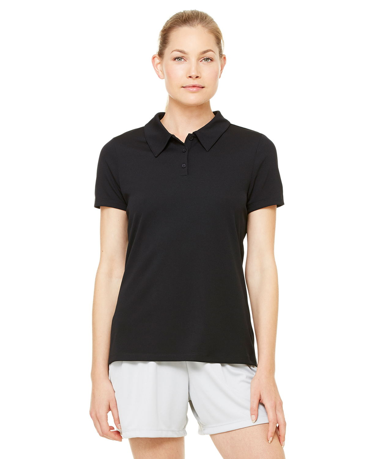 Alo W1709 - Ladies' Performance Three-Button Mesh Polo