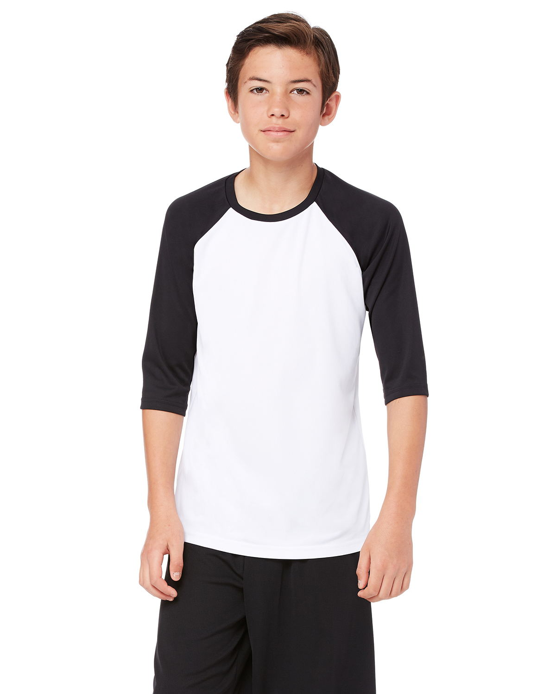 SOFFE MJ Mens 3//4 Sleeve Baseball Jersey