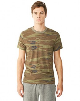 Alternative 01973EA - Printed Eco-Jersey Crew T-Shirt
